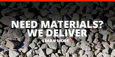 Need Materials? We Deliver
